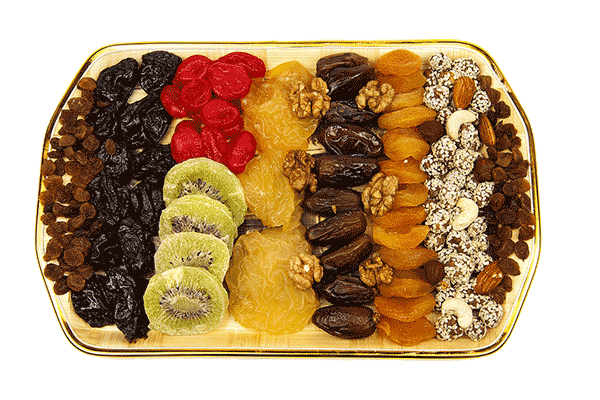 Exporting of dried fruits